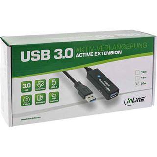 (€3,53*/1m) 15.00m InLine USB3.0 Verlängerungskabel aktiv
