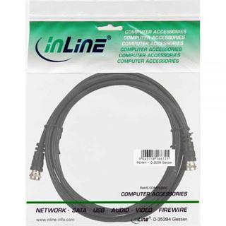 (€0,70*/1m) 7.00m InLine SAT Anschlusskabel F Stecker auf F