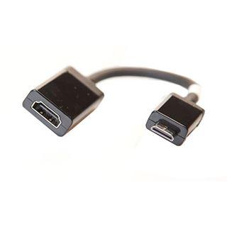 Dell HDMI Adapter HDMI Typ C Stecker auf HDMI-Buchse Schwarz