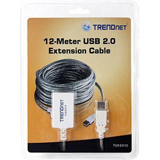 (€1,24*/1m) 12.00m Trendnet USB2.0 Verlängerungskabel aktiv