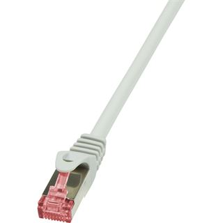 (€0,46*/1m) 30.00m LogiLink Cat. 6 Patchkabel S/FTP PiMF RJ45