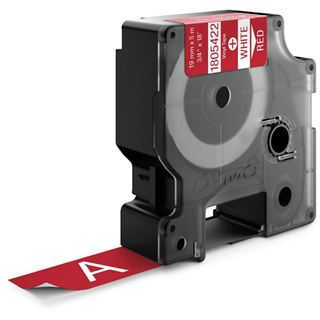 Dymo Vinylband 1805422 für Rhino Etikettendrucker, 19 mm x 5,5
