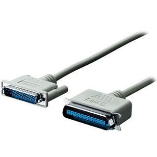 (€0,98*/1m) 5.00m Equip Parallel Anschlusskabel 25pol Stecker