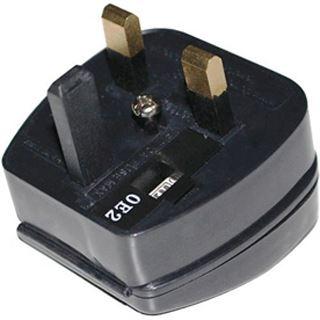 Terra Netz Kabel Adapter EU to UK, 5A, Black