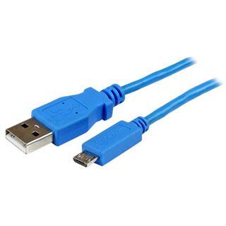 (€7,90*/1m) 1.00m Startech Anschlusskabel USB 2.0 USB A Stecker