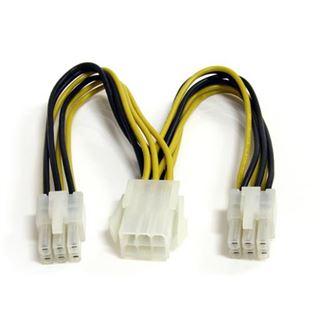 (€72,67*/1m) 0.15m Startech PCI Express Y-Stromadapterkabel 6pol