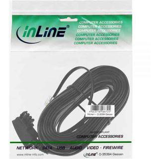 (€0,49*/1m) 10.00m InLine TAE-F Anschlusskabel TAE-F Stecker auf