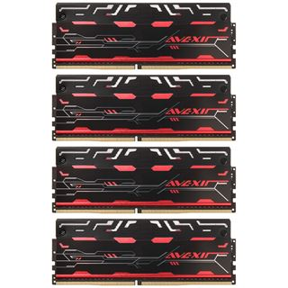 32GB Avexir Blitz1.1 Series DDR4-3000 DIMM CL16 Quad Kit