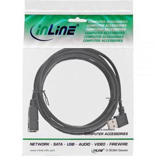 (€4,90*/1m) 1.00m InLine USB2.0 Verlängerungskabel USB A