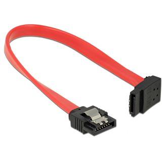 0.20m Delock SATA 6Gb/s Anschlusskabel gewinkelt oben SATA Stecker