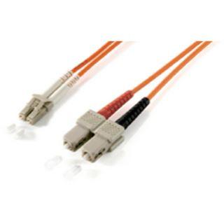 (€2,63*/1m) 3.00m Equip LWL Duplex Patchkabel 50/125 µm