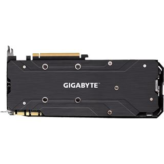 8GB Gigabyte GeForce GTX 1080 G1 Gaming Aktiv PCIe 3.0 x16 (Retail)