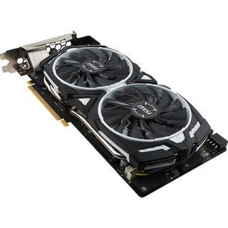 8GB MSI GeForce GTX 1080 Armor 8G OC Aktiv PCIe x16 (Retail)