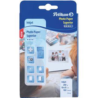 Pelikan Fotopapier Superior 10x15 glänzend 100 Blatt