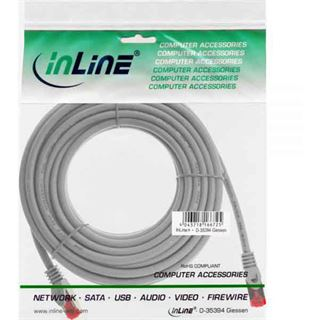 (€0,99*/1m) 10.00m InLine Cat. 6 Patchkabel S/FTP PiMF RJ45