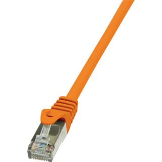 (€1,29*/1m) 10.00m LogiLink Cat. 6 Patchkabel F/UTP RJ45 Stecker