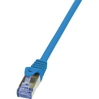 (€19,60*/1m) 0.25m LogiLink Cat. 6a Patchkabel S/FTP PiMF RJ45