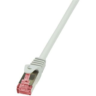 (€0,79*/1m) 10.00m LogiLink Cat. 6 Patchkabel S/FTP PiMF RJ45