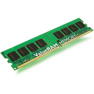 1GB Kingston ValueRAM DDR2-400 regECC DIMM CL3 Single