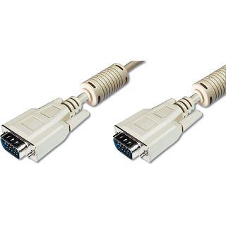(€3,83*/1m) 1.80m Digitus VGA Anschlusskabel VGA 15pol Stecker