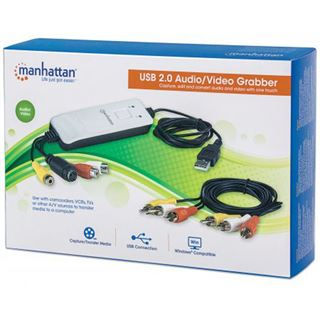 Manhattan Audio/Video Grabber USB2.0 weiß