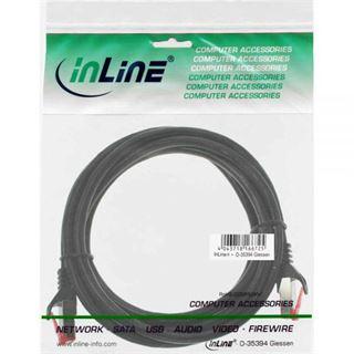 (€7,80*/1m) 0.50m InLine Cat. 6 Patchkabel S/FTP PiMF RJ45