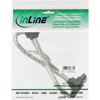 (€9,80*/1m) 0.50m InLine SATA 6Gb/s Anschlusskabel gewinkelt