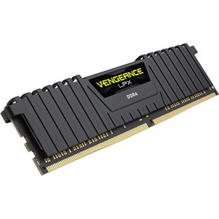 32GB Corsair Vengeance LPX schwarz DDR4-3000 DIMM CL15 Quad Kit