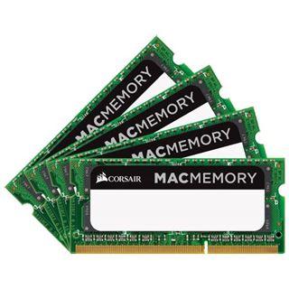32GB Corsair Mac Memory DDR3L-1866 SO-DIMM CL11 Quad Kit