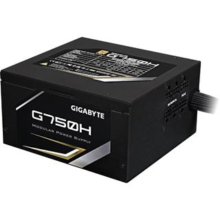 750 Watt Gigabyte G750H Modular 80+ Gold