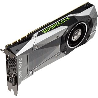 8GB Gigabyte GeForce GTX 1070 Founders Edition Aktiv PCIe 3.0 x16