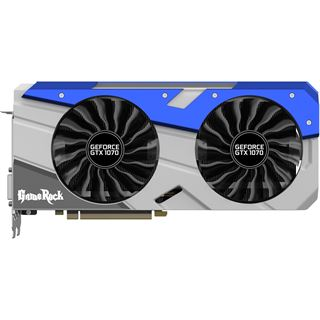 8GB Palit GeForce GTX 1070 GameRock Aktiv PCIe 3.0 x16 (Retail)