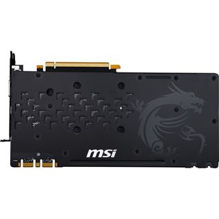 8GB MSI GeForce GTX 1070 GAMING X 8G Aktiv PCIe 3.0 x16 (Retail)
