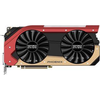 8GB Gainward GeForce GTX 1070 Phoenix Goes Like Hell Aktiv PCIe 3.0