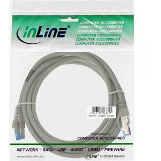 (€0,93*/1m) 15.00m InLine Cat. 6a Patchkabel S/FTP PiMF RJ45