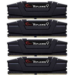 32GB G.Skill RipJaws V schwarz DDR4-3000 DIMM CL14 Quad Kit