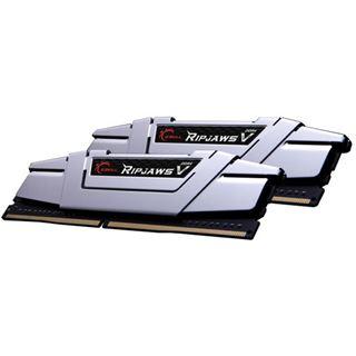 16GB G.Skill RipJaws V silber DDR4-2400 DIMM CL15 Dual Kit