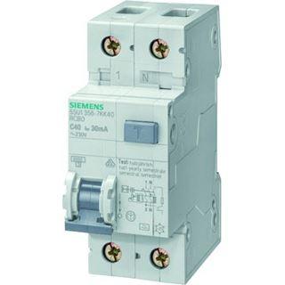 Siemens FI/LS-Schutzschalter 1p+N B16 0,03A 230V A 6kA 2TE 1p