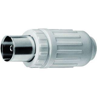 Triax-Hirschmann Koax-Steckverbinder IEC, Bu, 75Ohm RG58 UHF-Buchse