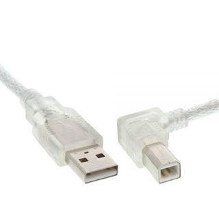 (€7,80*/1m) 0.50m InLine USB2.0 Anschlusskabel gewinkelt rechts