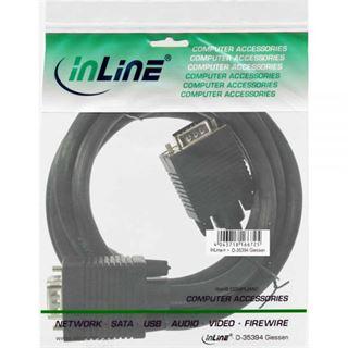 (€4,90*/1m) 1.00m InLine S-VGA Anschlusskabel VGA 15pol Stecker
