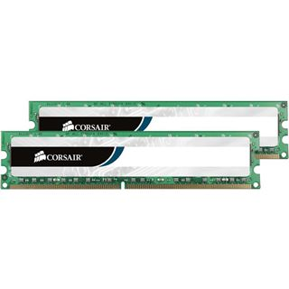 2GB Corsair ValueSelect DDR-400 DIMM CL3 Dual Kit