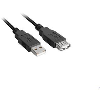 2.00m Sharkoon USB2.0 Verlängerungskabel USB A Stecker auf USB A