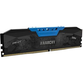 16GB PNY Anarchy blau DDR4-2133 DIMM CL15 Dual Kit