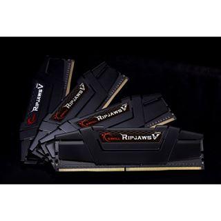 64GB G.Skill RipJaws V schwarz DDR4-3333 DIMM CL16 Quad Kit