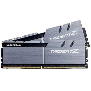 32GB G.Skill Trident Z silber/schwarz DDR4-3200 DIMM CL16 Dual Kit