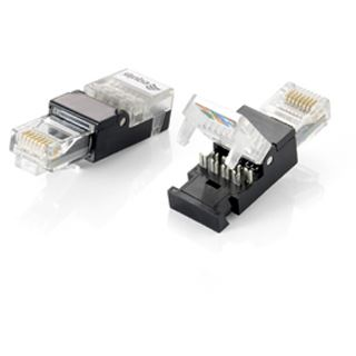 equip stecker rj45 cat 6 werkzeuglos ungeschirmt 2st ck stecker einzeln. Black Bedroom Furniture Sets. Home Design Ideas