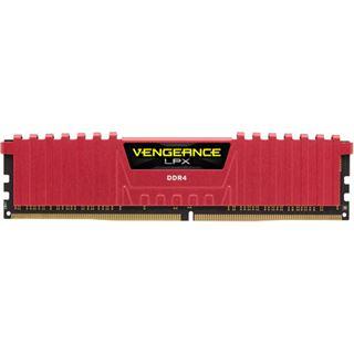8GB Corsair Vengeance LPX rot DDR4-4266 DIMM CL19 Dual Kit
