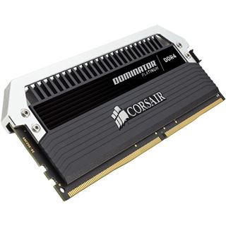 8GB Corsair Dominator Platinum DDR4-3733 DIMM CL17 Dual Kit
