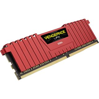 32GB Corsair Vengeance LPX rot DDR4-2666 DIMM CL16 Dual Kit